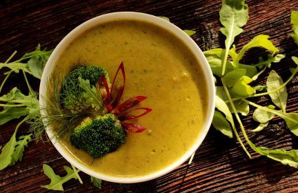 Zielona zupa z komosą ryżową!