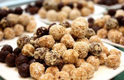 Słodkie kulki dla alergików.